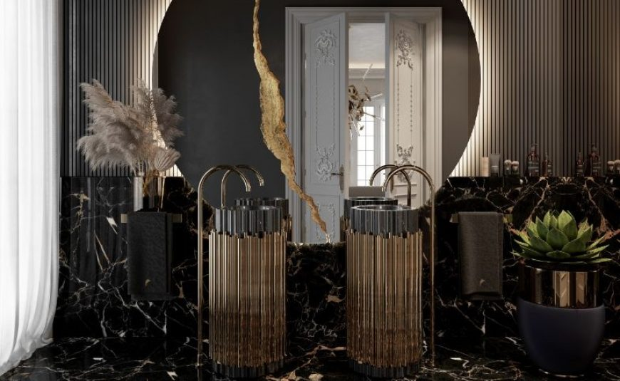leanne ford Inside Leanne Ford's Rock the Block Master Bathroom Design Bathrooms To Admire Feel Inspired By This Dreamy Parisian Aesthetic3333 870x535