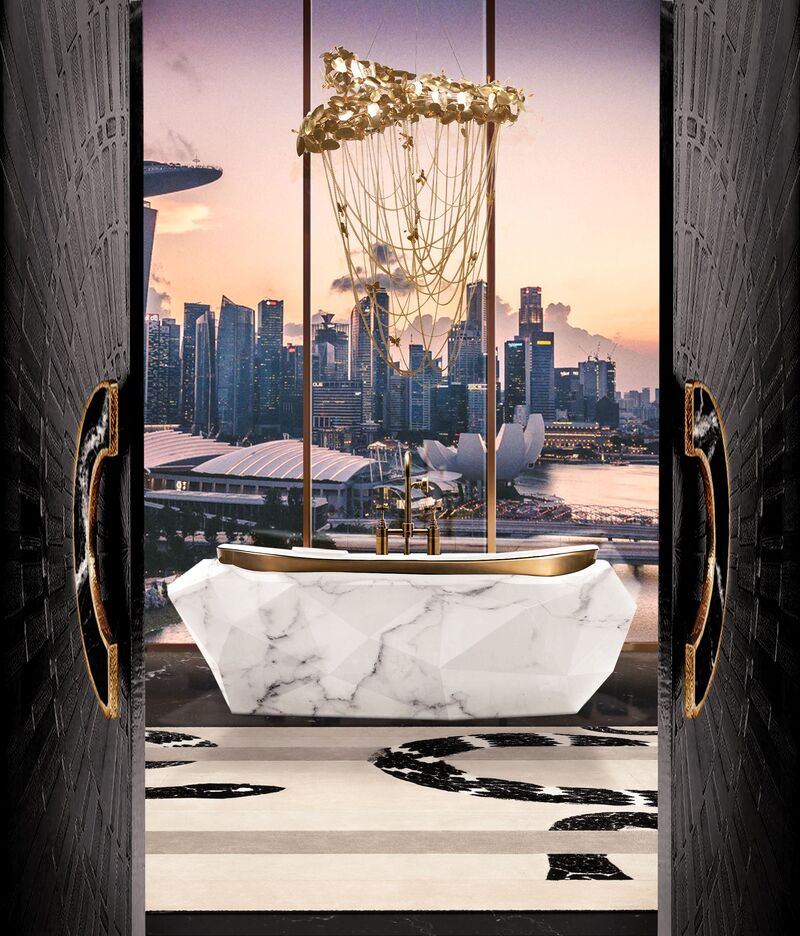 The Midas Touch: Golden Bathrooms That Shine bathrooms The Midas Touch: Golden Bathrooms That Shine The Midas Touch Golden Bathrooms That Shine2