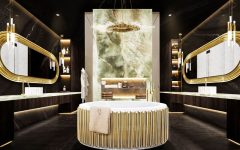 bathrooms The Midas Touch: Golden Bathrooms That Shine The Midas Touch Golden Bathrooms That Shine3 240x150