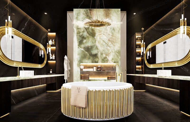 The Midas Touch: Golden Bathrooms That Shine bathrooms The Midas Touch: Golden Bathrooms That Shine The Midas Touch Golden Bathrooms That Shine3