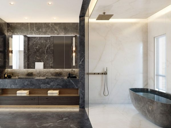 impressive bathrooms NYC: The Most Incredible Designers That Produce Impressive Bathrooms NYC Interior Designers The Top 20 Bathroom Designs 10 600x450