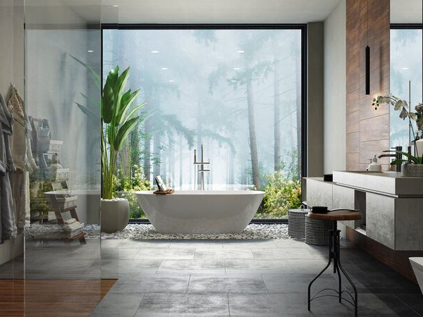 bathroom designs Nature-Inspired Bathroom Designs To Inspire The Perfect Private Oasis Nature Inspired Bathroom Designs To Inspire The Perfect Private Oasis4 600x450