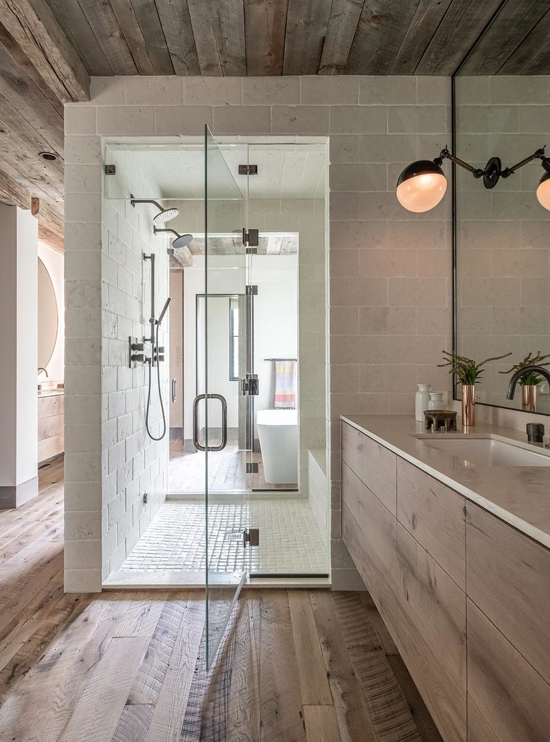 Cabin Fever: Impressive Bathroom Designs by Abby Hetherington Interiors