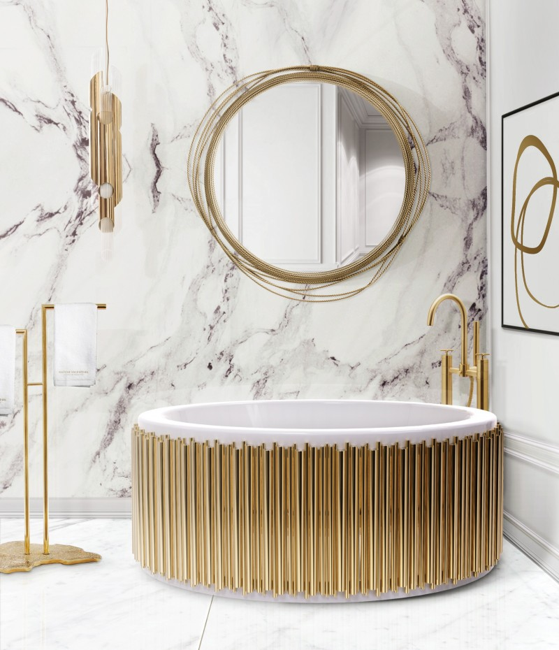 bathroom designs Drake/Anderson: Incredible Bathroom Designs That Impress cross grey surface and symphony bathtub  a sleek combo for any bathroom 1
