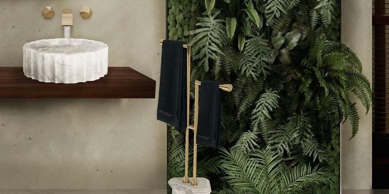 bathroom ideas Bathroom Ideas To Create A Refreshing Summer Look nature filled bathroom design with koi bathtub 1 2