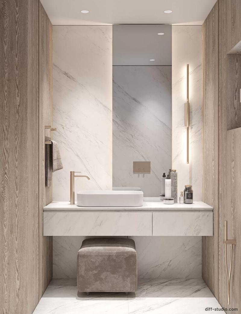 Bathroom Designers To Follow: Diff Studio bathroom designers Bathroom Designers To Follow: Diff Studio Diff Studio Bathroom Design Brilliance 6