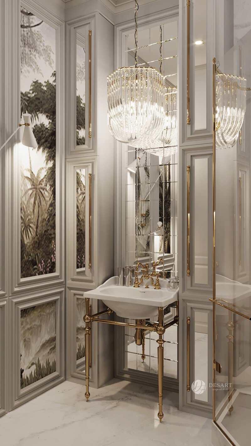 Desart Decor: Intense Bathroom Design Ideas